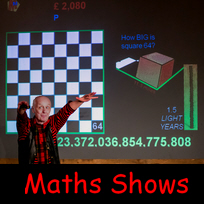 Book a Maths Show with Kjartan Poskitt